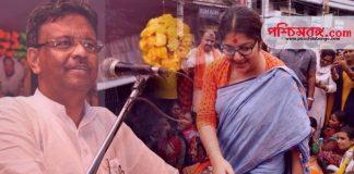 Locket Chatterjee, firhad hakim, ফিরহাদ হাকিম, লকেট চট্টোপাধ্যায়, বিধানসভা ভোট ২০২১, election 2021