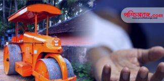 roller, dead, road roller, west bengal news, রহস্যময় মৃত্যু, মৃত্যু