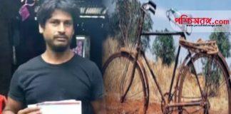 viral news, west bengal, ১৪০ কিলোমিটার পথ সাইকেল চালিয়ে, অসুস্থ মায়ের রিপোর্ট আনলেন ছেলে