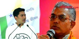dilip ghosh, west bengal politics, abhishek banerjee, দিলিপ ঘোষ, অভিষেক বন্দ্যোপাধ্যায়